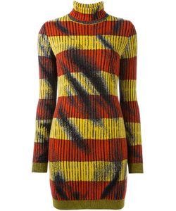 Moschino | Платье С Высоким Горлом Trompe-Lœil