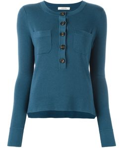 Dorothee Schumacher | Three Quarter Button Neck Sweater