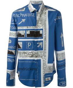 Chalayan | Классическая Рубашка С Принтом