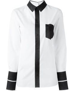 Maison Margiela | Рубашка Дизайна Колор-Блок