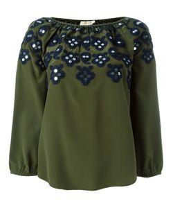 Tory Burch | Декорированная Блузка