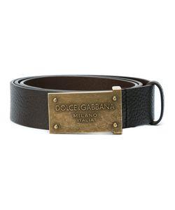 Dolce & Gabbana | Ремень С Логотипом На Бляшке