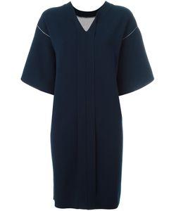 SYSTEM | V-Neck Dress
