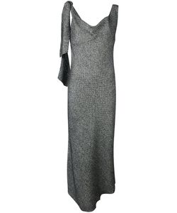 Maison Margiela | Твидовое Драпированное Платье