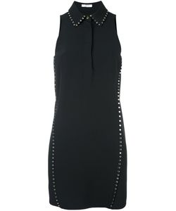 Versace Collection   Платье С Воротником С Заклепками