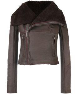 Rick Owens | Укороченная Байкерская Куртка