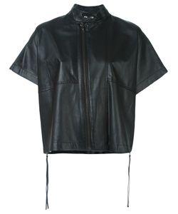 Diesel Black Gold | Кожаная Куртка С Короткими Рукавами