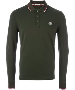 Moncler | Long Sleeve Logo Polo Shirt