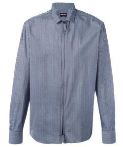 Giorgio Armani | Полосатая Рубашка С Застежкой-Молнией