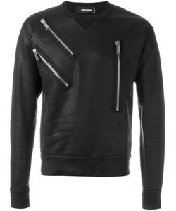 Dsquared2 | Varnished Zip Detail Sweatshirt