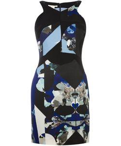 Antonio Berardi | Приталенное Платье С Абстрактным Принтом