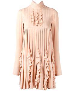 Dsquared2 | Плиссированное Платье С Рюшами