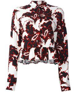 MSGM | Блузка С Цветочным Принтом