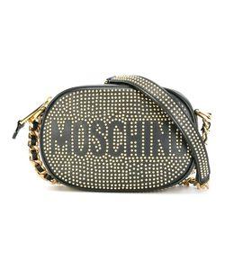 Moschino | Сумка Через Плечо С Логотипом И Заклепками