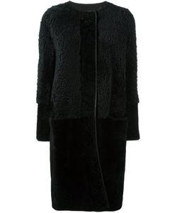 Lanvin | Пальто На Молнии С Панельным Дизайном