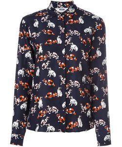MSGM | Рубашка С Принтом Кошек