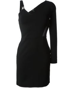 Versus | Короткое Платье С Одним Рукавом