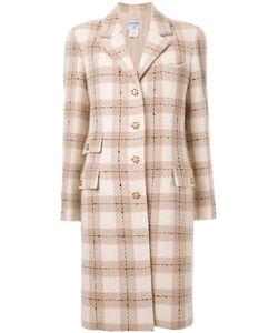 Chanel Vintage | Пальто В Клетку