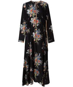 No21 | Платье Макси С Цветочным Узором