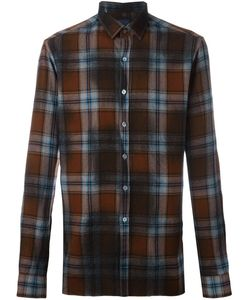 Lanvin | Фланелевая Рубашка В Клетку