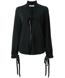 Givenchy | Блузка С Рюшами На Воротнике