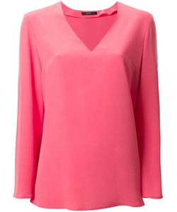Etro   Блузка С V-Образным Вырезом