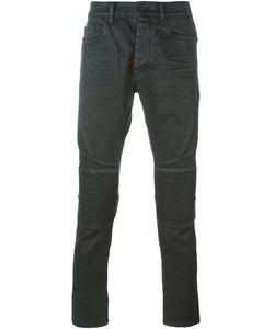 MARCELO BURLON COUNTY OF MILAN | Slim Fit Biker Jeans