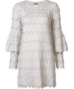 Pepa Pombo | Платье С Двухслойными Рукавами
