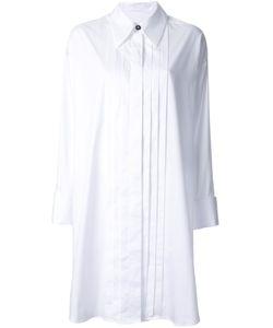 MM6 by Maison Margiela | Платье-Рубашка С Плиссировкой