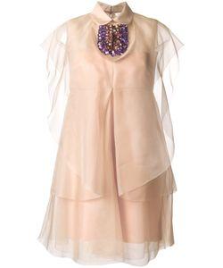 Delpozo | Декорированное Платье
