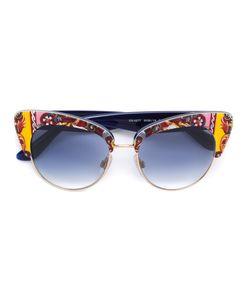 Dolce & Gabbana | Солнцезащитные Очки С Принтом Carretto Siciliano