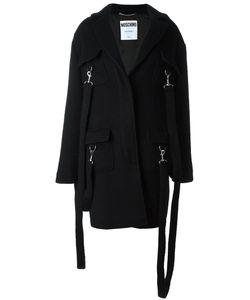 Moschino | Пальто С Подвязками