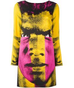 Moschino | Платье С Принтом Мужского Лица
