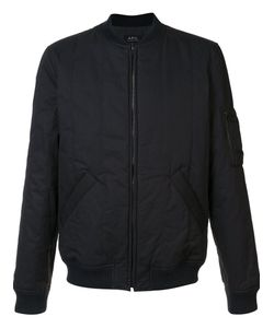 A.P.C. | Стеганая Куртка-Бомбер