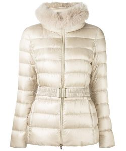 Herno | Fur Trim Padded Jacket