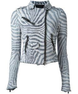 Numero 10   Zebra Print Jacket