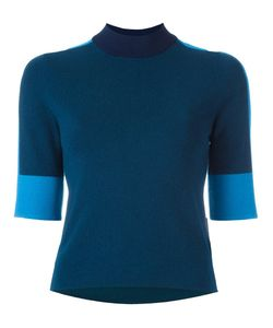 Tory Burch | Contrast Sleeves Sweater