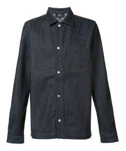 A.P.C.   Джинсовая Рубашка На Кнопках