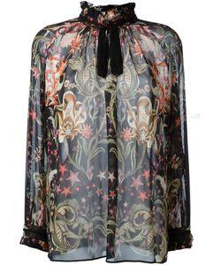 Roberto Cavalli | Блузка С Цветочным Принтом