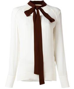 Marni | Блузка С Контрастным Бантом
