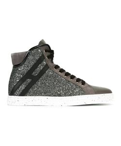 Hogan Rebel | Sequin Embellished Hi-Top Sneakers