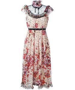 GIAMBA | Платье С Цветочным Принтом