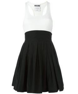 Moschino | Платье С Плиссированной Юбкой