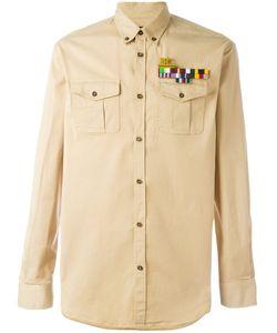 Dsquared2 | Plain Logo Brooch Shirt