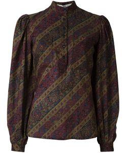 Jean Louis SCHERRER VINTAGE   Блузка С Цветочным Узором