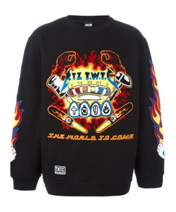 Ktz | Embroidered Sweatshirt