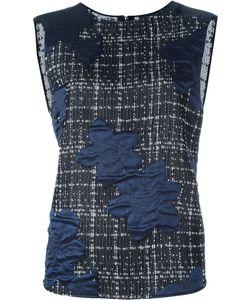 Giorgio Armani | Декорированная Блузка Без Рукавов