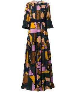 ROKSANDA | Mixed Print Maxi Dress