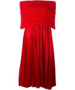 JUNYA WATANABE COMME DES GARCONS | Плиссированное Платье С Открытыми Плечами