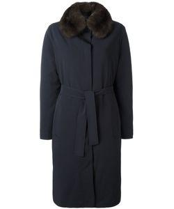 Liska | Пальто С Отделкой Из Меха Белки
